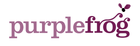 Purple Frog logo